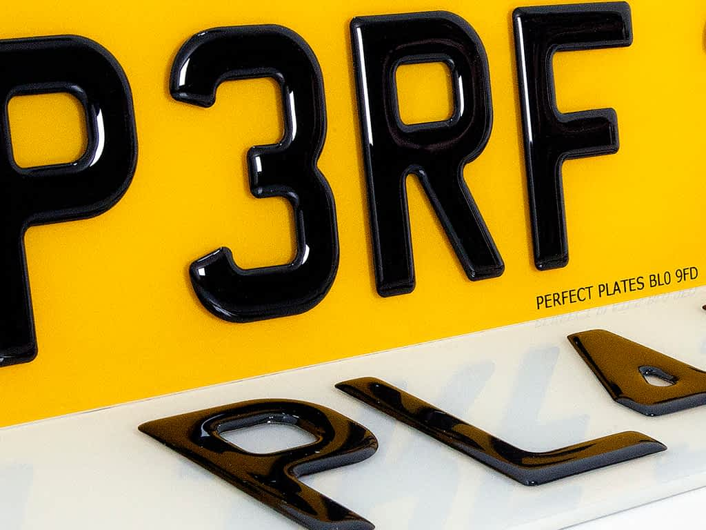 3D Domed Gel Reg Plates