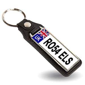 Number Plate Key Fob